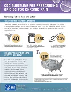 cdc guidelines for prescribing opioids