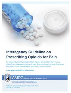 interagency guideline on prescribing opiods